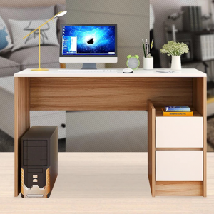 Modern Office furniture wood desk with drawers