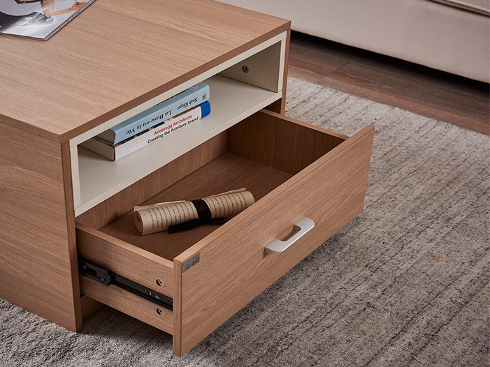 Modern Coffee Table With Storage: