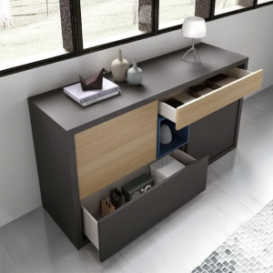 Stylish modern storage cabinets with drawers-Home furniture