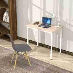 مكتب خشب مودرن بأرجل حديد - اثاث مكتبى