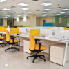 Office Furniture wood and metal workstation