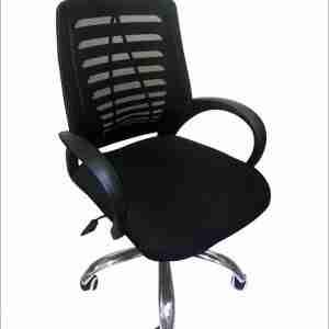 كرسى مكتب دوار متحرك القاعده من القماش- أثاث مكتبى