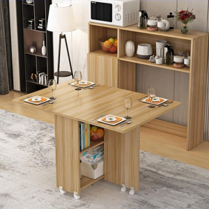 Coffee and Dinning corner with foldable table