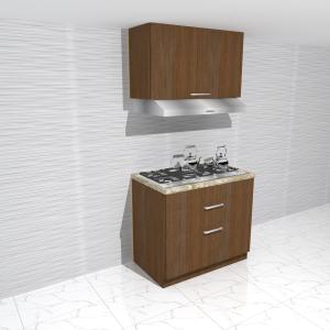 stove kitchen cabinet - وحدة مطابخ مودرن للبوتجاز
