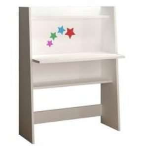 Office furniture- wood desk with two shelves 80*40*110