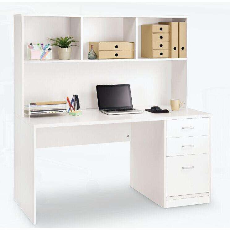 Office furniture- wood desk with storage unit & drawers 120*50*120