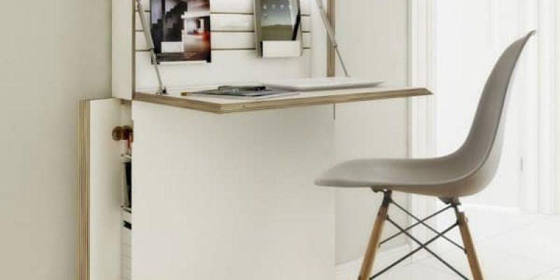 تصاميم مودرن لمكاتب خشب موفرة فى المساحة المنزلية